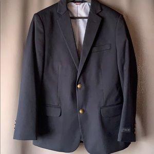Tommy Hilfiger Boys Navy Blazer Suit Jacket SZ 14